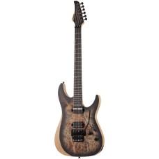 Schecter Reaper-6 FR-S Elektro Gitar (Satin Charcoal Burst)