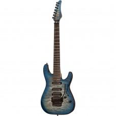 Schecter Sun Valley Super Shredder 7 III Elektro Gitar (Sky Burst)